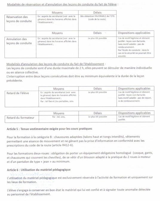 Le Règlement Intérieur P3